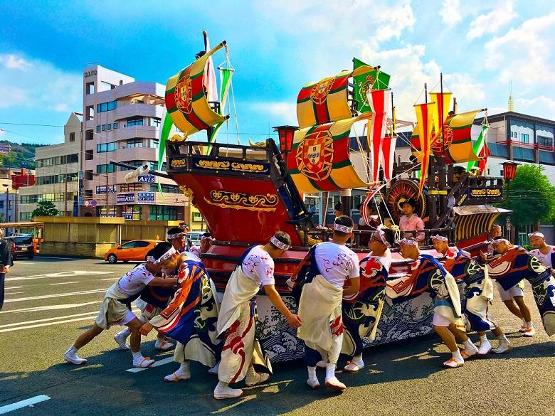街中が祭りの舞台!九州最大規模の祭り「長崎おくんち」に行ってみた