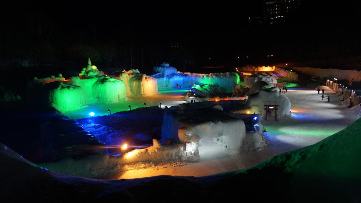 氷瀑まつりが2019年も開幕!インスタ、Twitterの投稿をまとめてご紹介!