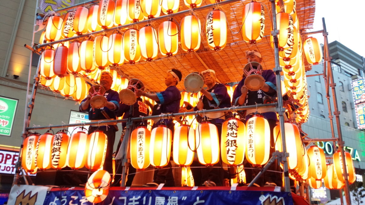 今年の「踊りはじめ」はこれで決まり!浅草六区で「桐生八木節」の舞!