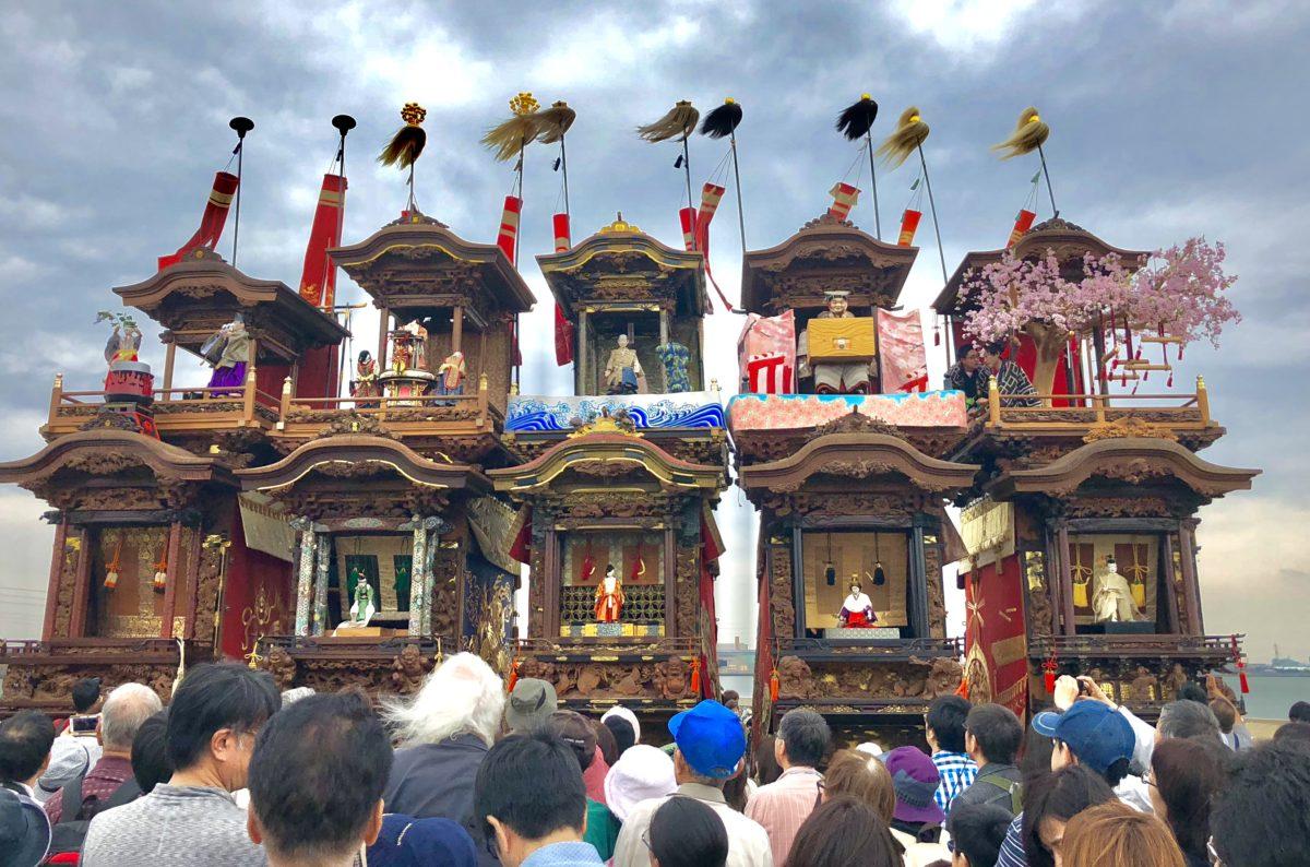 【山車が海に突っ込む!?】ユネスコ無形文化遺産、亀崎潮干祭!