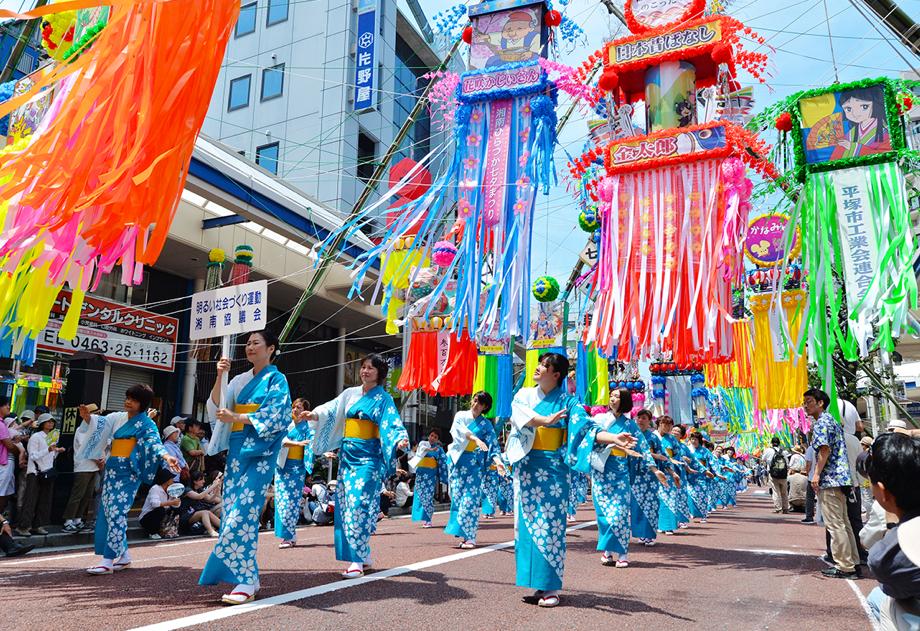 関東三大七夕祭りに行ってみよう!スケジュールや見所は?