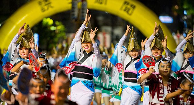 2018年 東京の阿波おどりのおすすめは?徳島に負けじと盛り上がる阿波おどりを4つご紹介