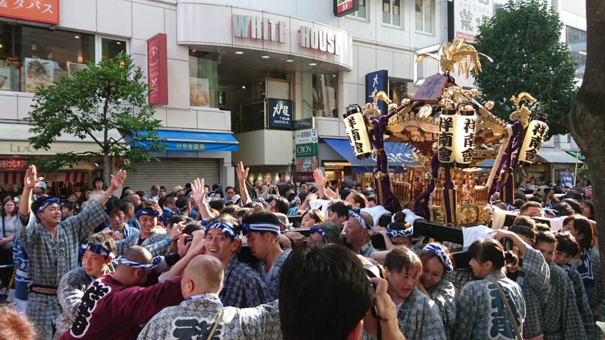 2019年吉祥寺秋まつり開催!「住みたい街」でのお祭りは、神輿もグルメも楽しめる