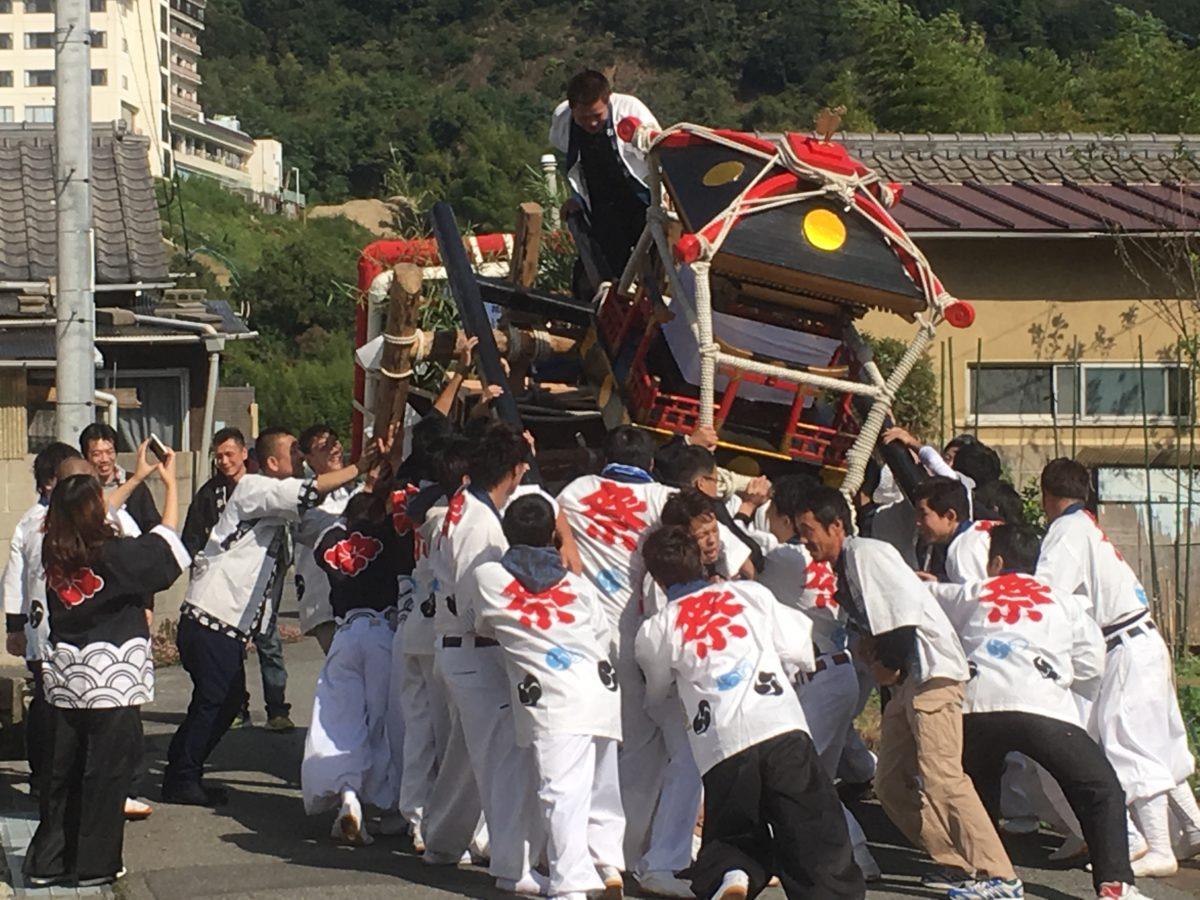 瀬戸内海を一望できる絶景スポットで岡山名物「千歳楽」のお祭りが開催!