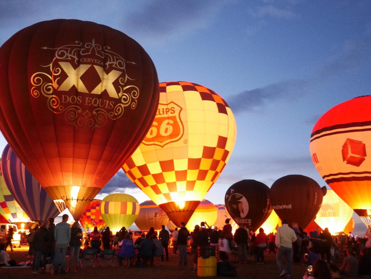 世界最大の気球のお祭り!アメリカ「アルバカーキ バルーンフィエスタ」に行ってきた!
