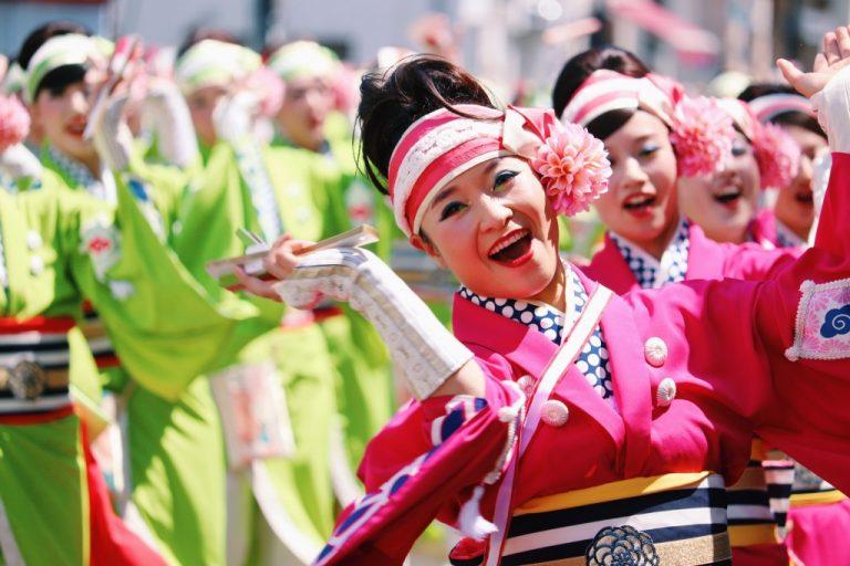 高知の城下へ来てみいや。|よさこいの本場「高知よさこい祭り」が暑い夏を熱く彩る。