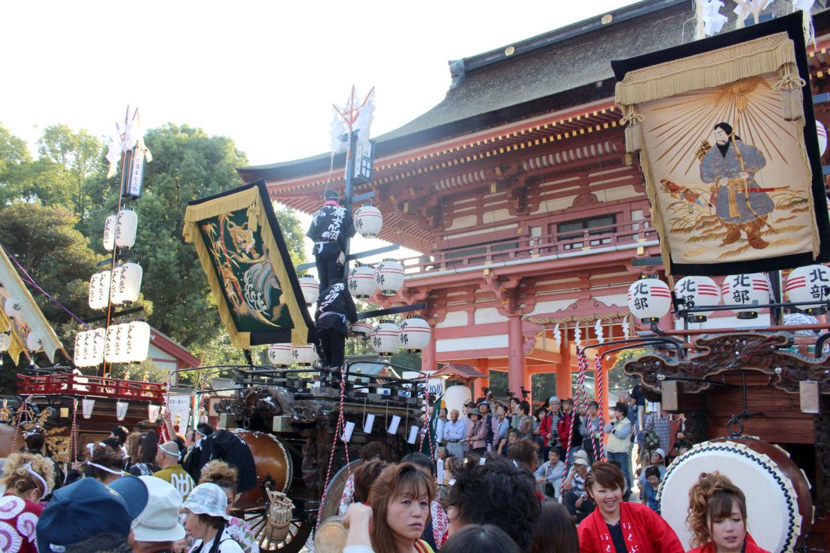 愛知・津島神社の秋祭りをご紹介。全国に3000カ所ある「津島神社」の総本山