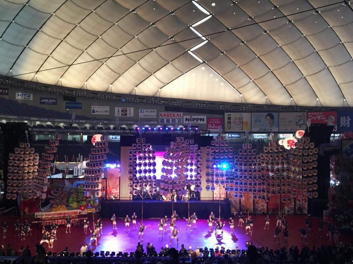 ふるさと祭り東京2019!秋田竿燈まつり、郡上おどり、DJ KOOさんなどが登場した1/17(木)の様子を速報レポート