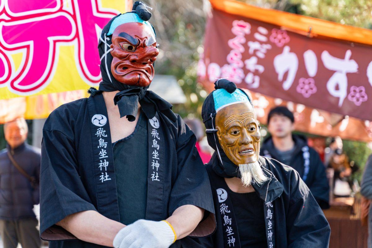 おんだ祭り@奈良県明日香村をレポート!見に行くとお尻を叩かれる?