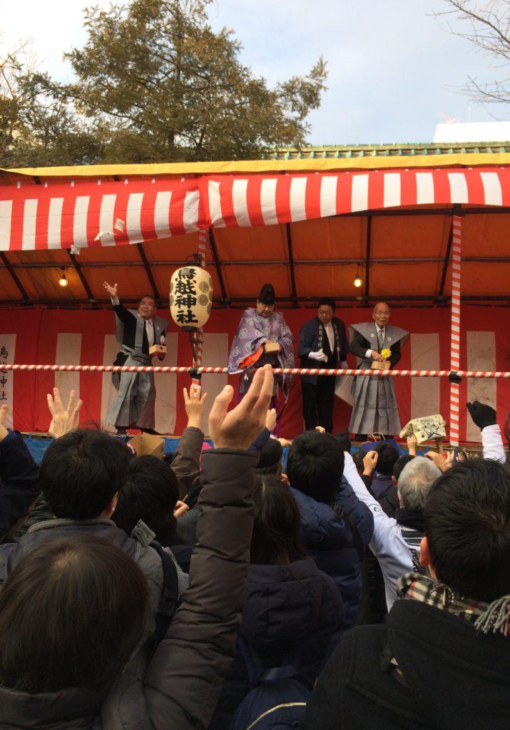 「千貫神輿」が有名な鳥越神社節分祭に子連れ参加!福豆はもらえる!?