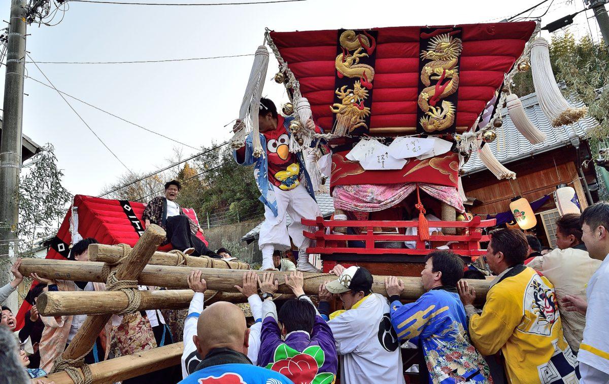 ダジャレじゃなくて、マジ。布団が吹っ飛ぶ「能地春祭り」のSNSまとめ