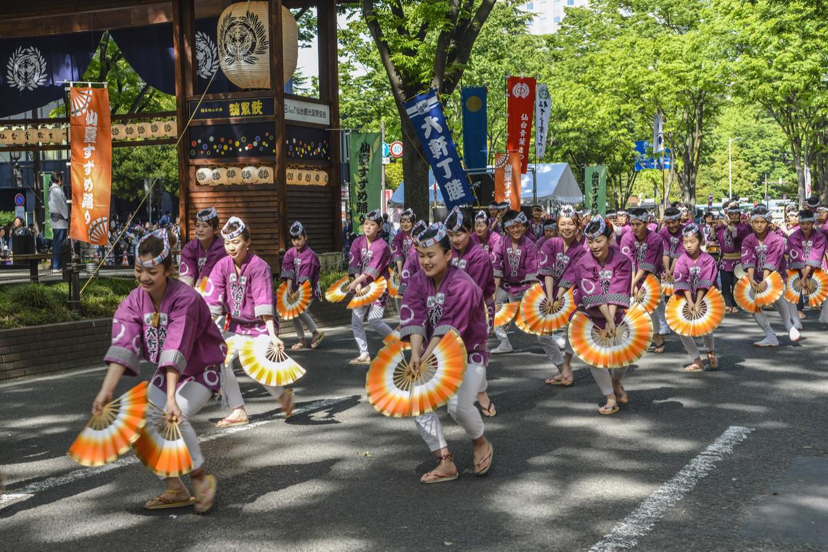 仙台・青葉まつりをご紹介!地元民が語る見所とは…すずめ踊りの楽しみ方やグルメ情報も!