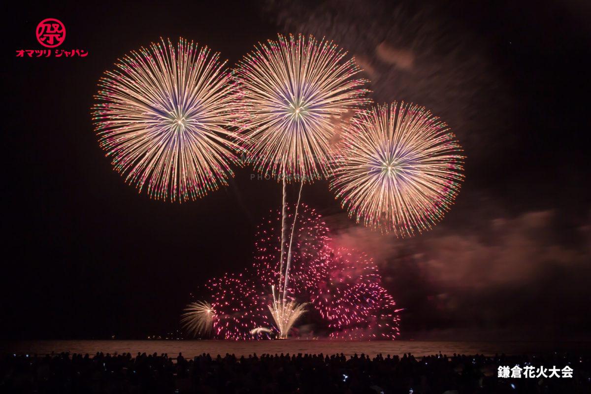 鎌倉花火大会【2019】の見どころを120%ご紹介!最先端の技術を自在に扱う花火師とは?