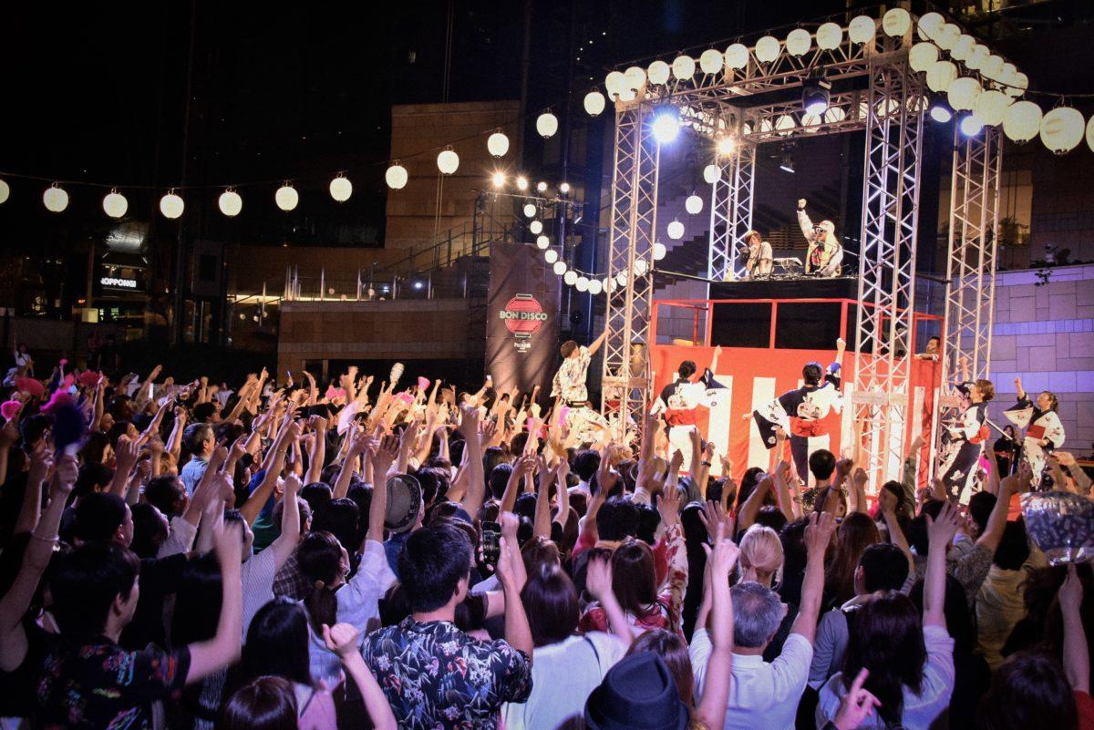 【東京六本木】ぶっとび~!盆踊り+ディスコ = BON DISCO!浴衣で、扇子で、EZ DO DANCE!