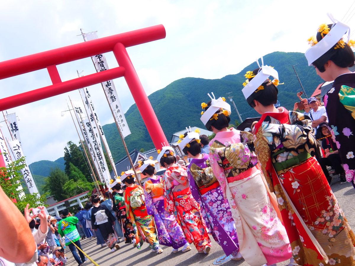 会津田島祇園祭の魅力紹介!日本一の花嫁行列に参加できる⁉︎