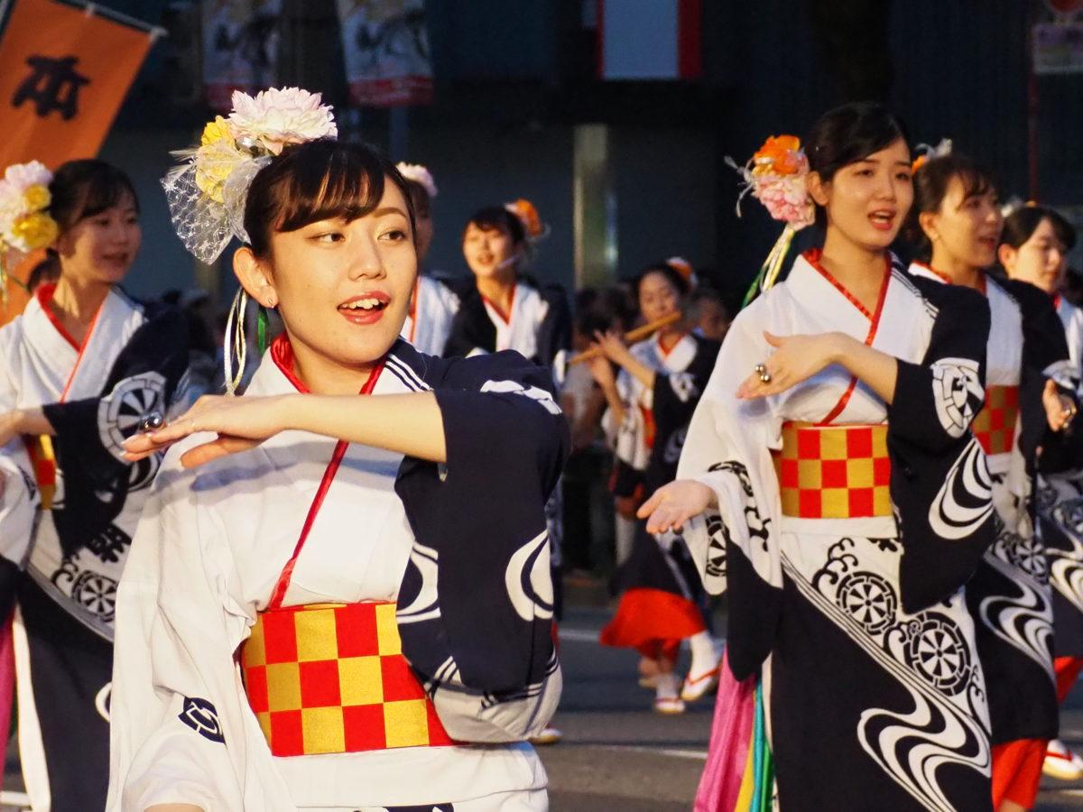うえの夏まつりパレード さんさ踊り 写真速報【東京・上野】