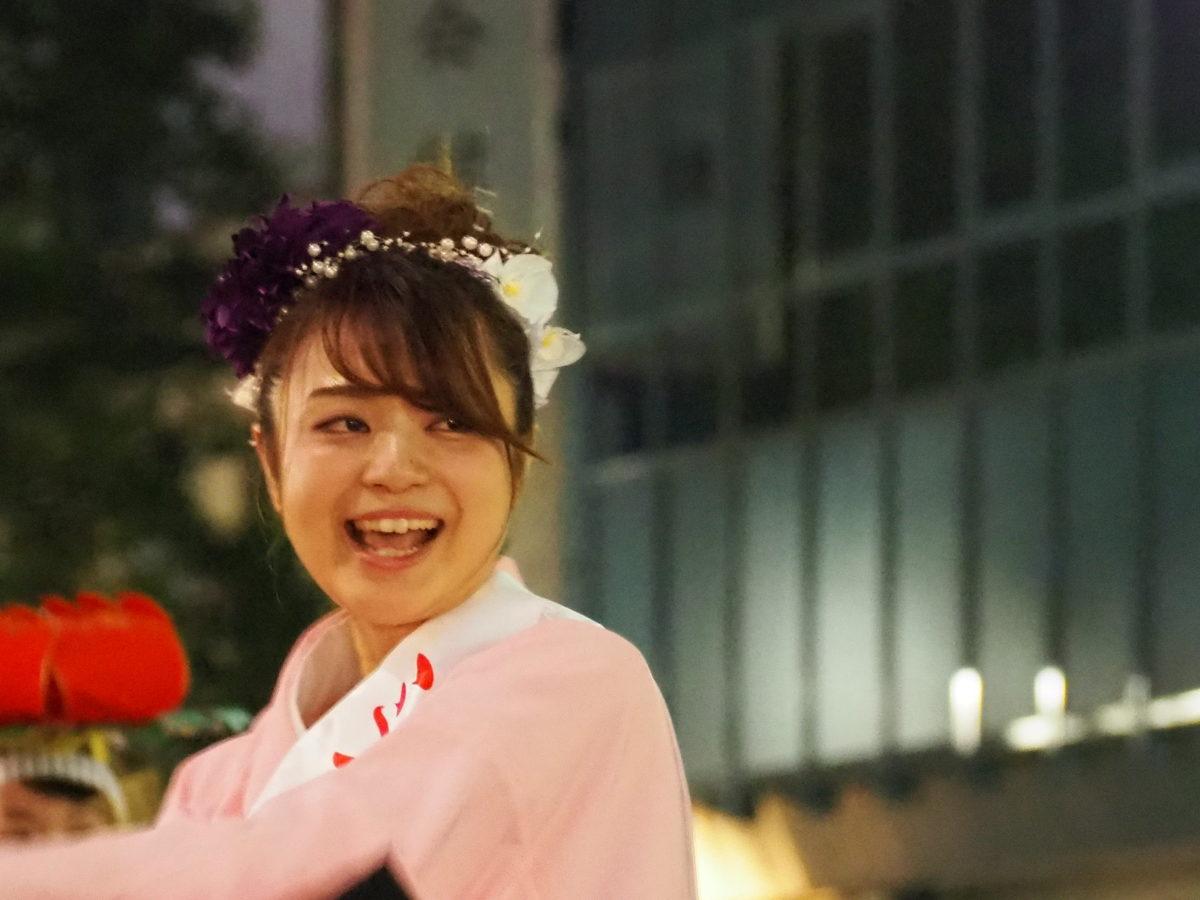 ミスさんさ踊り 写真速報【東京・上野】うえの夏まつりパレード