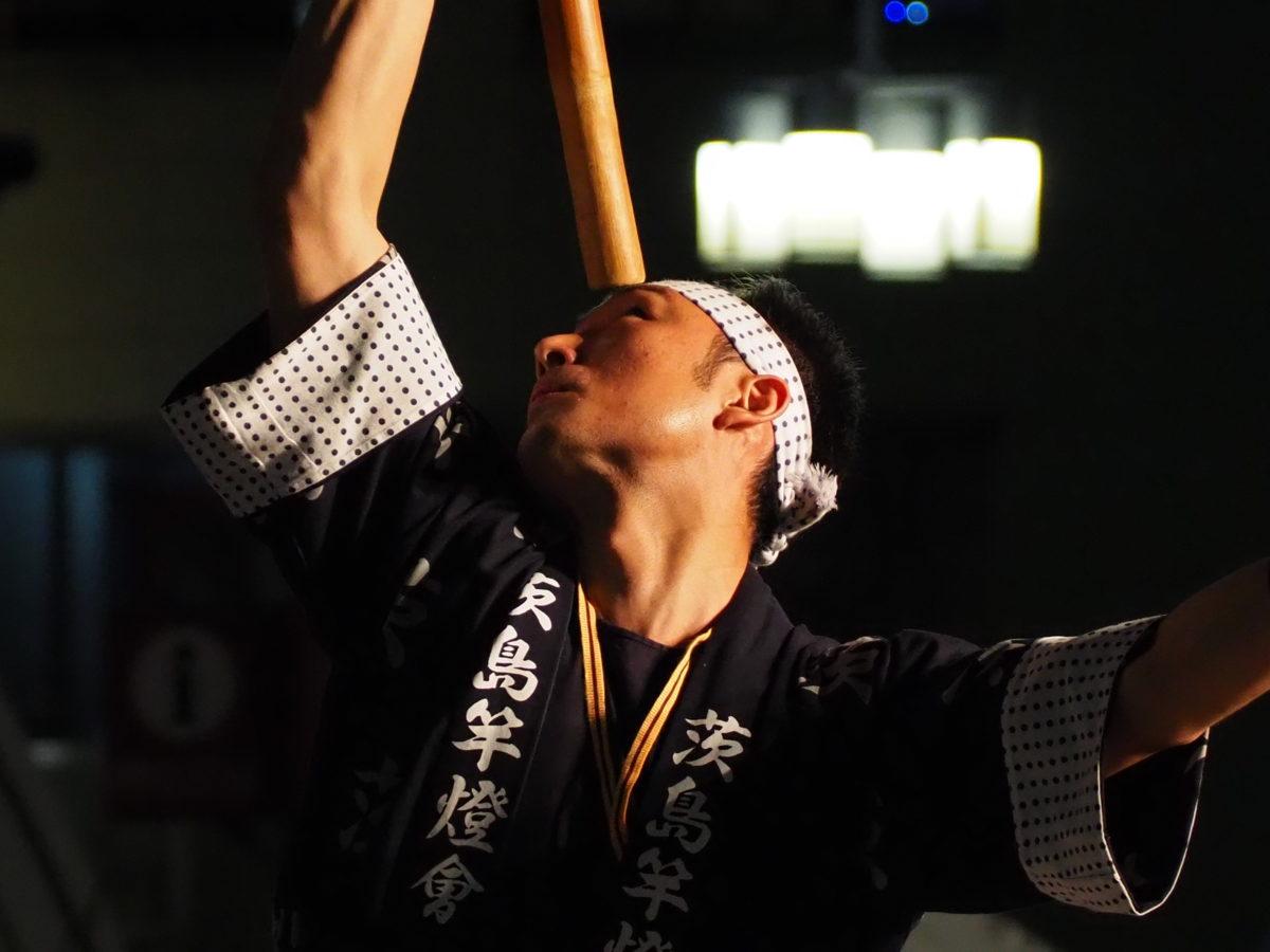 うえの夏まつりパレード 竿燈イケメン! 写真速報【東京・上野】