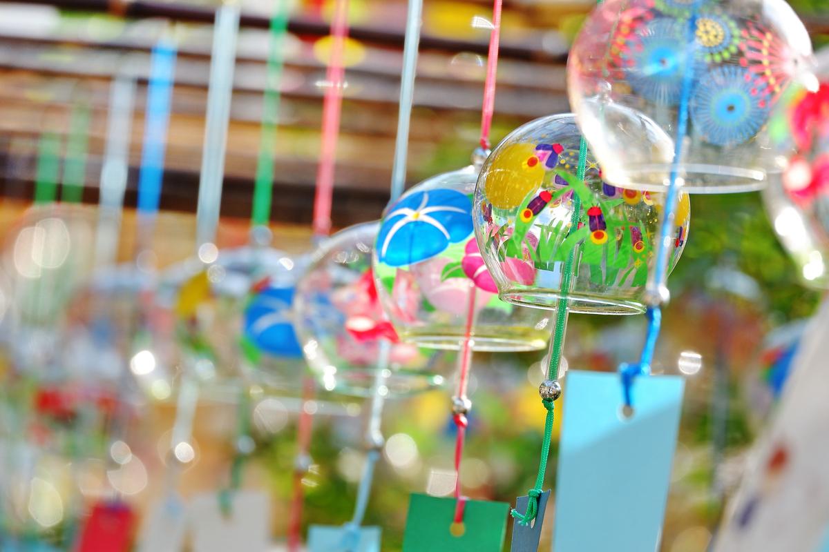 【縁むすび風鈴】縁結びで有名な「川越氷川神社」を彩る江戸風鈴の回廊