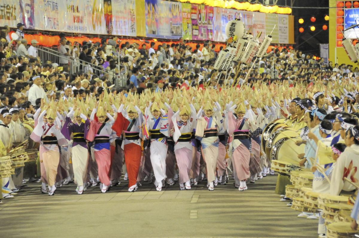 今年は本場で見る阿呆に!8月12~15日「徳島阿波おどり」に行こう!