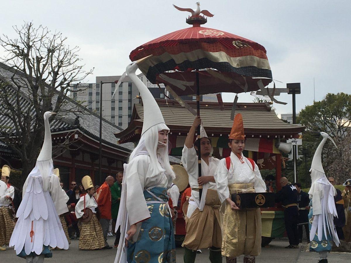 白鷺の舞(しらさぎのまい)、千年の時を超えて歴史あるお祭りへ!