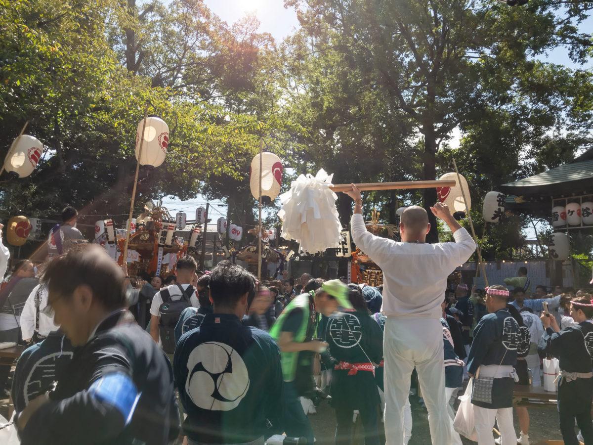 【雪ケ谷八幡神社奉祝大祭】5年に1度の氏子町会連合渡御