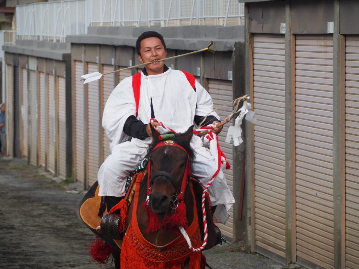 小室浅間神社流鏑馬祭り写真速報【山梨県・富士吉田市】