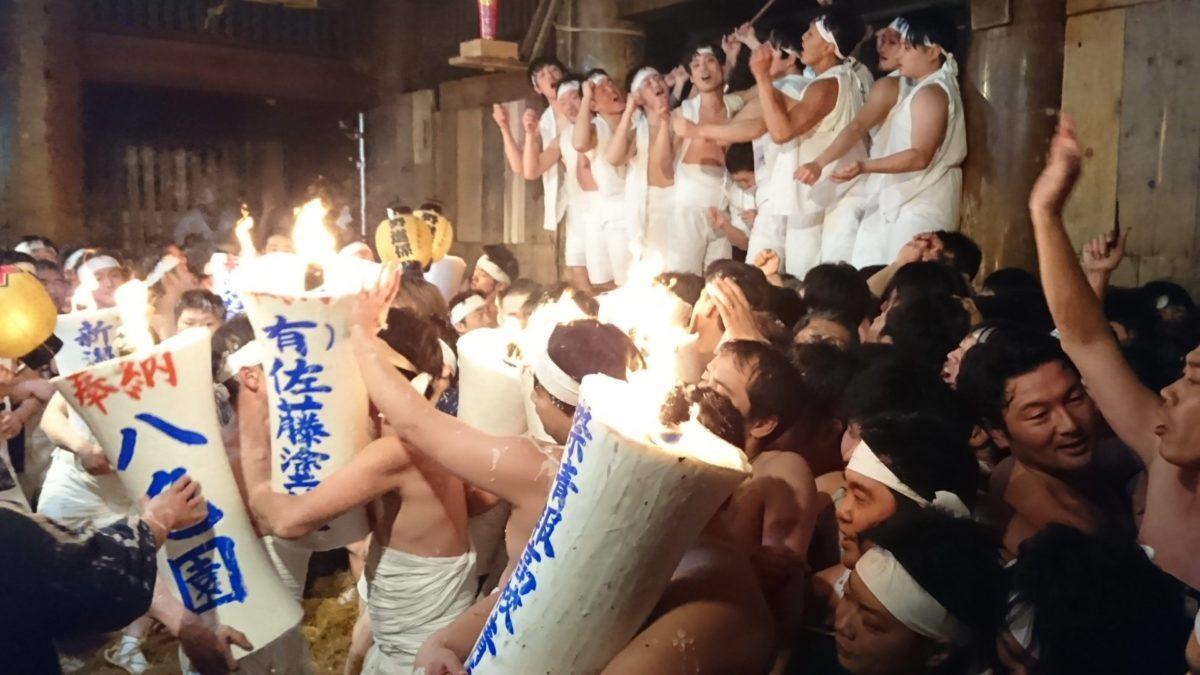 「越後浦佐毘沙門堂の大ロウソク祭り」裸とロウソクと寺と私 観光経済新聞