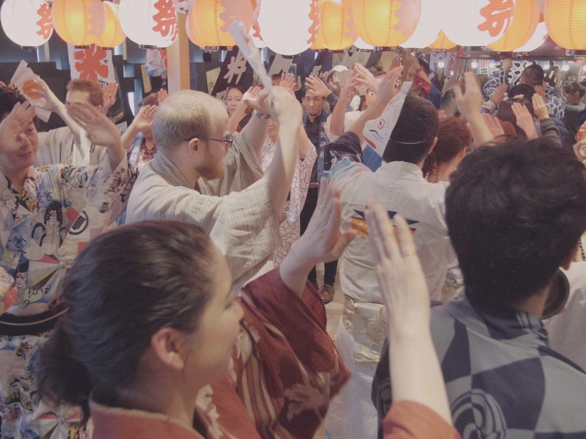 <お知らせ>盆踊り協会との業務提携を開始しました!