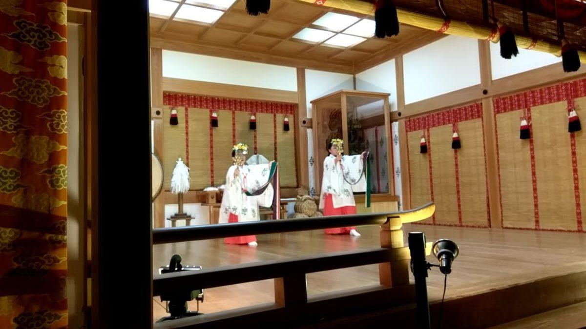 異界への入り口~天空の神社で楽しむ江戸神楽