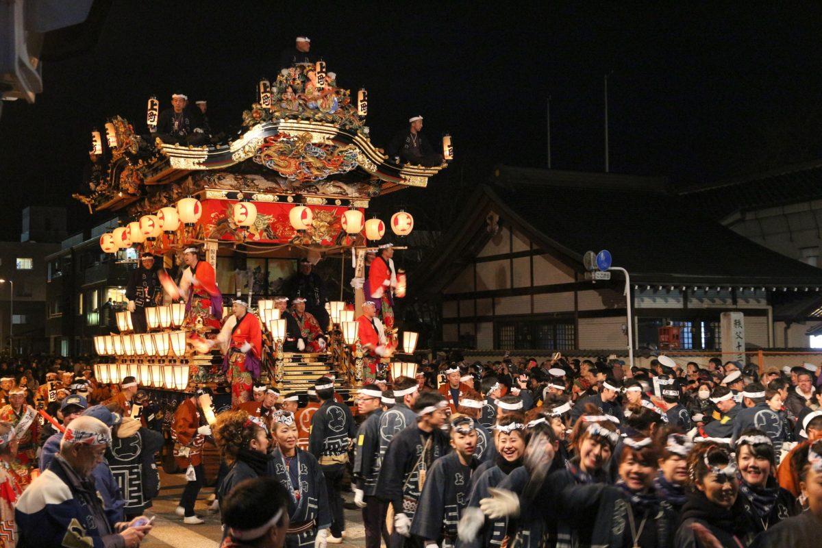 【秩父夜祭】令和元年、秩父の師走名物で街はお祭り一色!