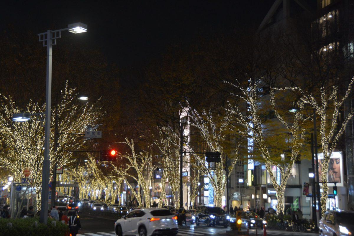「表参道マジックイルミネーション」約1.1キロのケヤキ並木に降り注ぐシャンパンゴールドの優しく温かな光