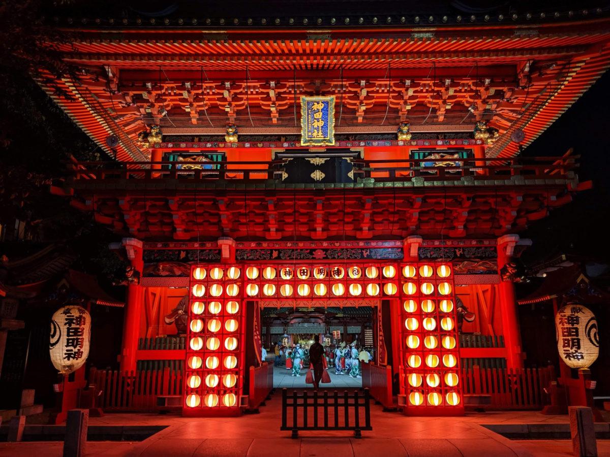神田明神の新たなお祭り!江戸東京夜市とは?2019年9月の開催レポート!