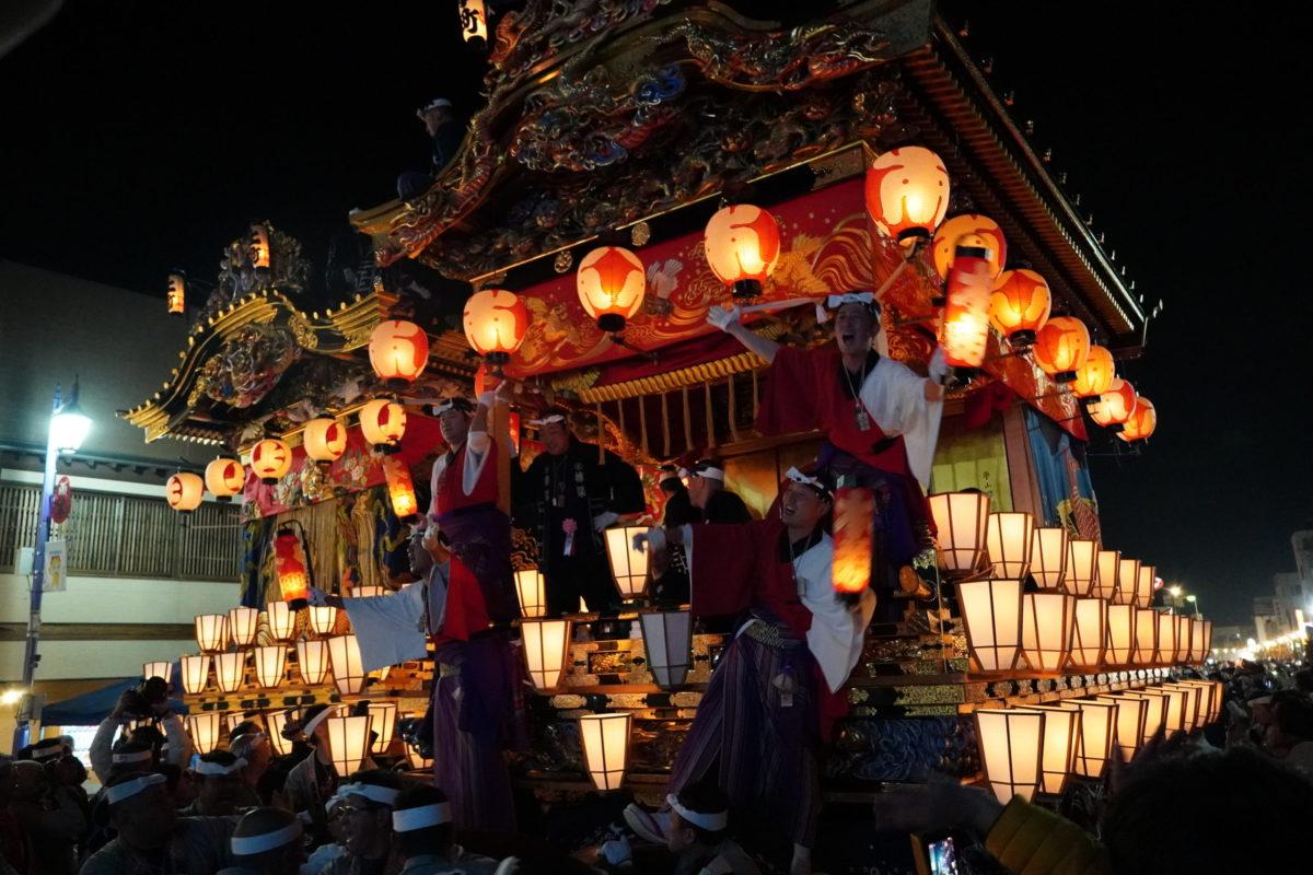【秩父夜祭】初日の宵宮!4台の屋台曳行、花火も盛大に<開催速報>