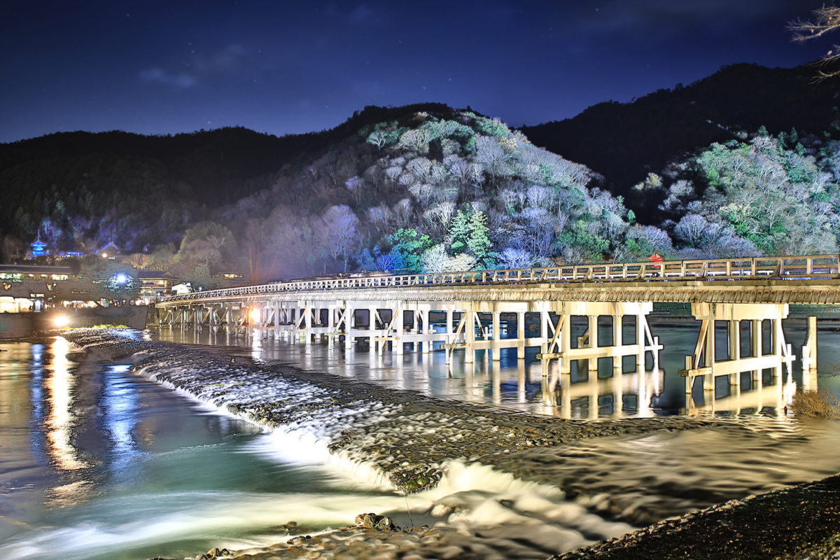 京都嵐山花灯路 渡月橋と竹林の小径だけじゃない!デジタルアートと古都の融合
