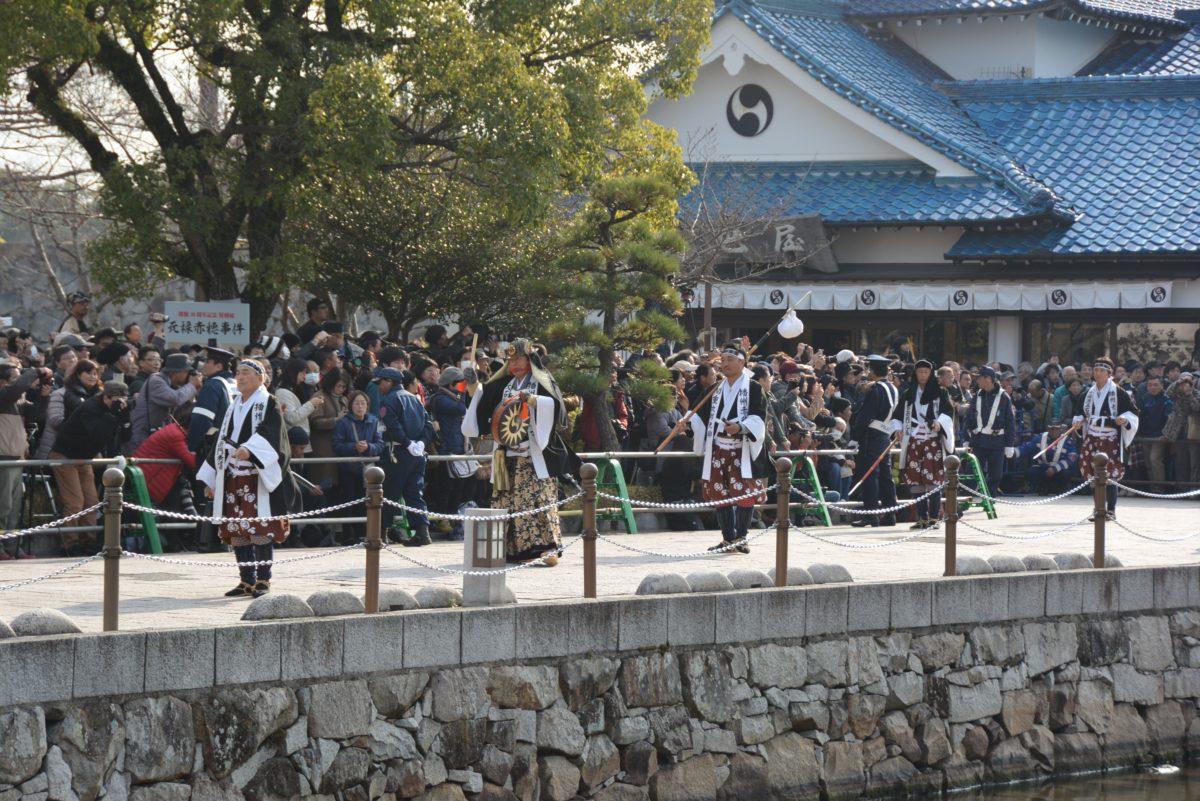 「赤穂義士祭」元禄時代の赤穂や忠臣蔵の世界を趣向が凝らされたジオラマで再現