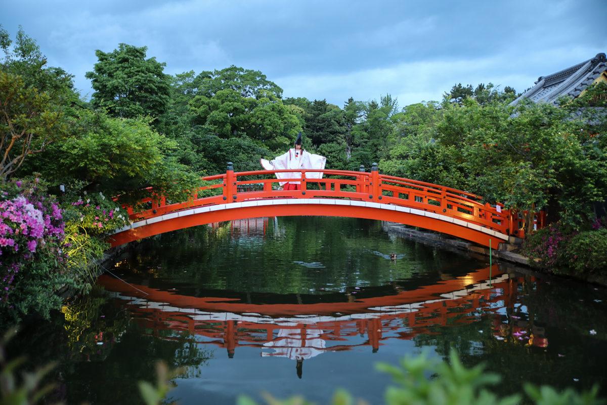 「神泉苑祭」静御前が降臨 白拍子の舞|観光経済新聞
