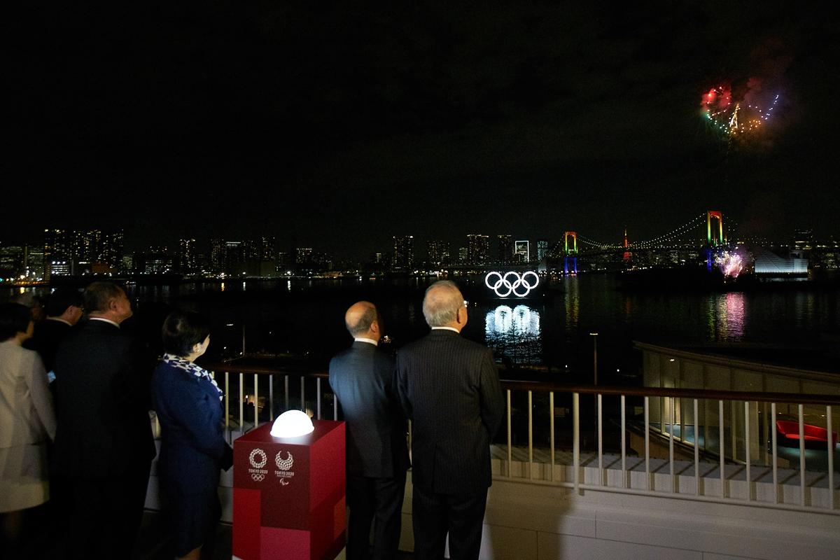 東京2020イヤー記念セレモニー、東京オリンピック・パラリンピックまであと半年に迫る記念式典!