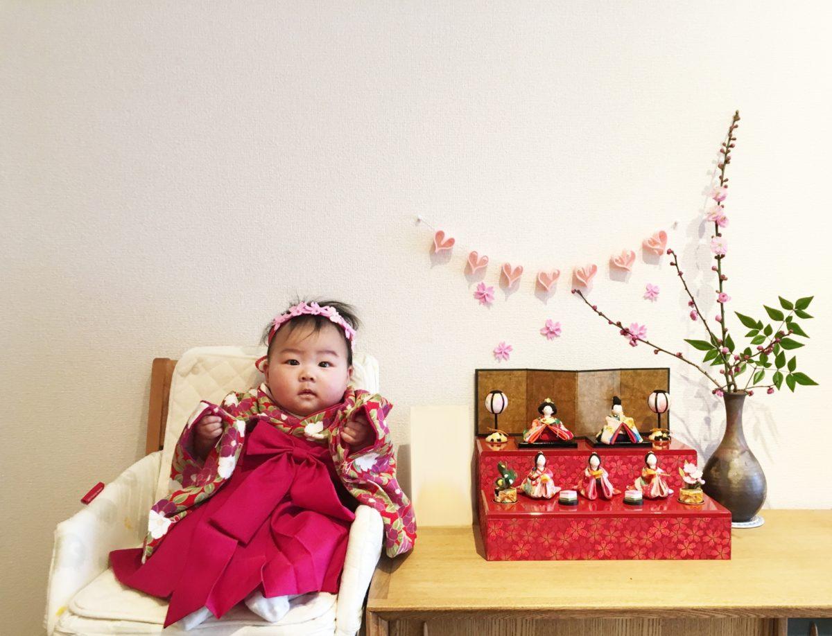 コンパクトなひな人形で祝うのが最近の流行!?ひな祭りを彩るオシャレで可愛いひな人形をご紹介!