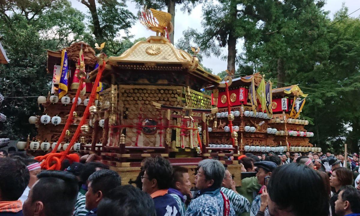 西条祭りは4つの神社のお祭り?!地元民に見どころを聞いてみた!