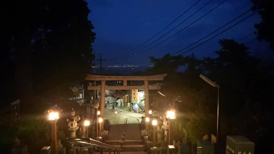武蔵御嶽神社 -流鏑馬神事-天空の神社「陰の祭り」