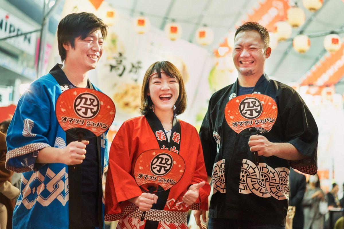 """""""祭で日本を盛り上げたい!""""というビジョンが生まれた舞台裏をご紹介。経営陣3名の運命的な出会いとは?"""