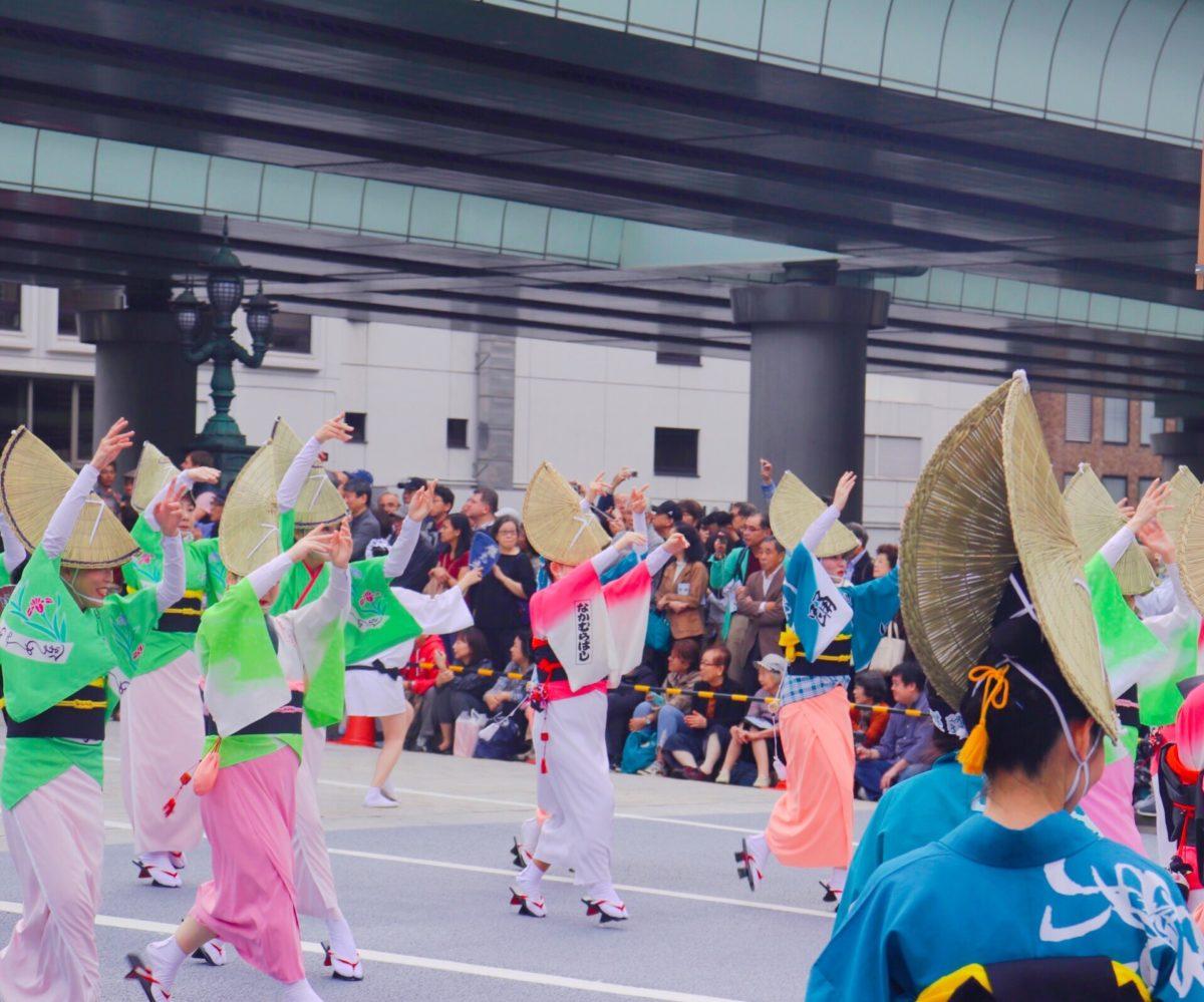 日本橋京橋まつり、日本橋を占領?!活粋溢れる東京に注目!!