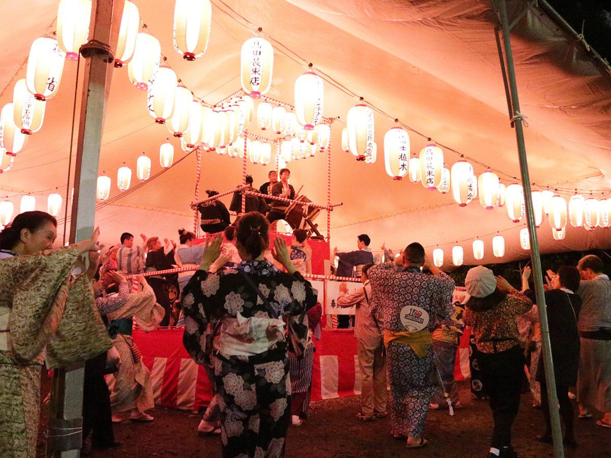 【山王音頭と民踊大会】盆オドラーのお正月!日枝神社ではじまる東京の盆踊り