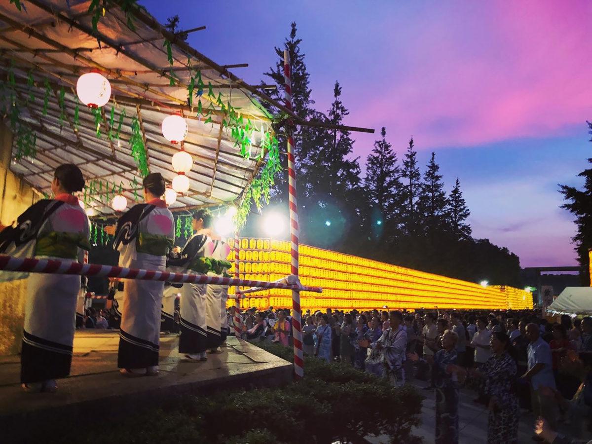 【みたままつり納涼民踊のつどい】靖国神社に集い踊る!東京を代表する盆踊り