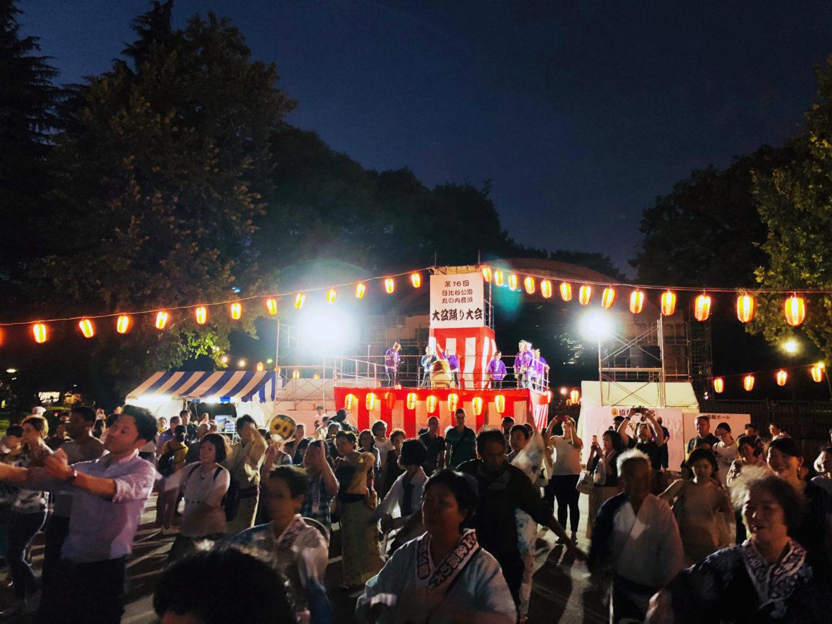 【日比谷公園丸の内音頭大盆踊り大会】踊り踊るなら…盆踊り生誕地で踊れ!