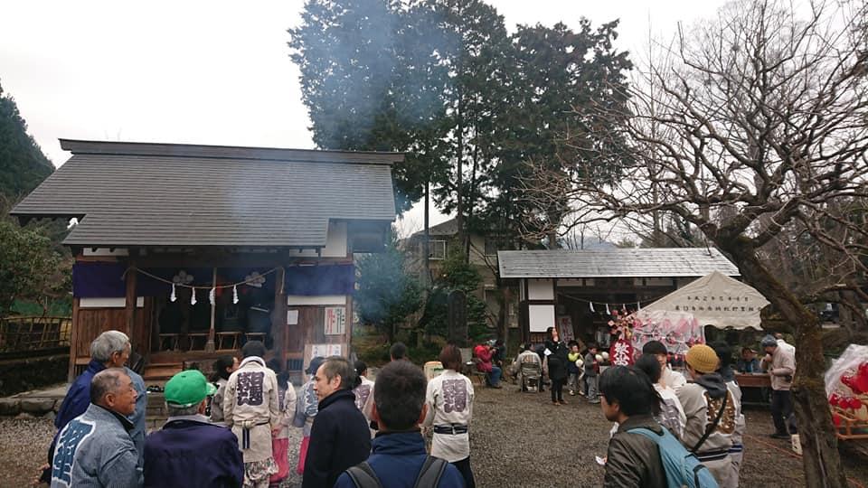 伊奈沢天神社祭礼 -太陽が昇る町 日の出町のお祭り-
