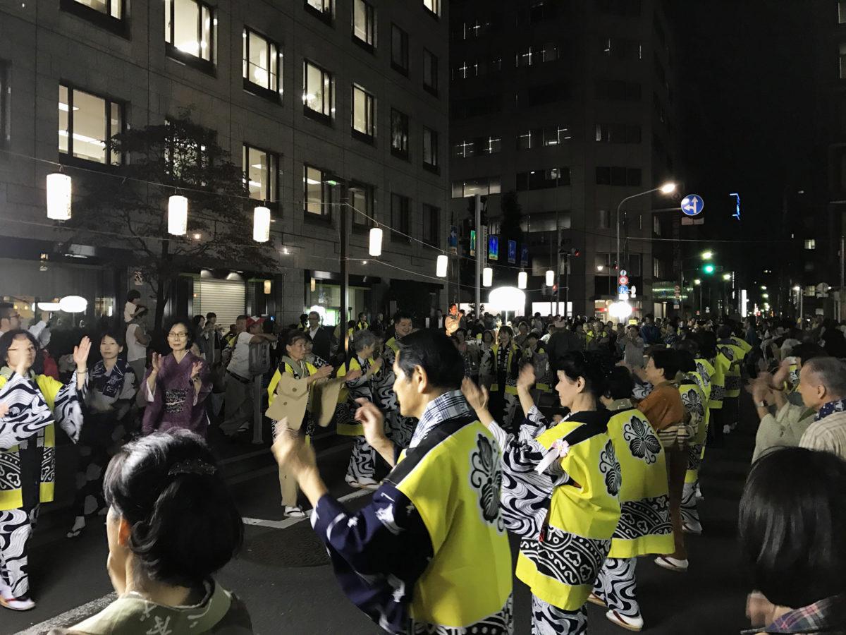 【べったら盆踊り大会】東京の踊り納め!神無月の肌寒さと名残を惜しむ盆踊り