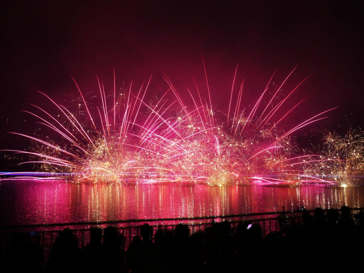 【開園55周年記念りんどう湖花火大会】7月23日~25日の3日連続開催決定!