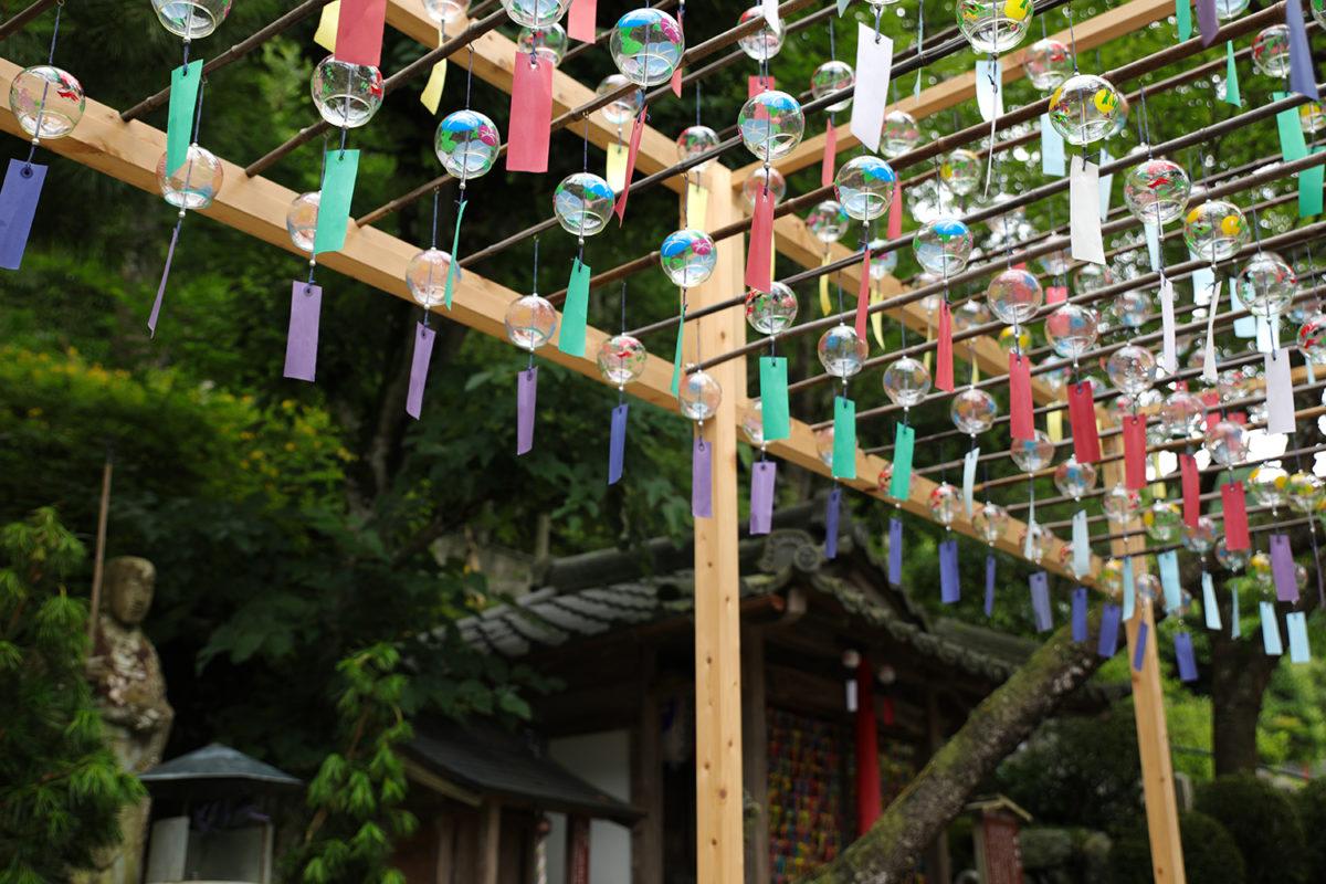 「正寿院 風鈴まつり」京都の風鈴寺に宇治茶バスで一日観光